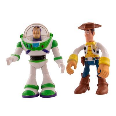 اکشن فیگور طرح داستان اسباب بازی مدل buzz lightyear and woody بسته 2 عددی