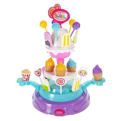 اسباب بازی استند گردان بستنی فروشی مدل sweet کد 668 54