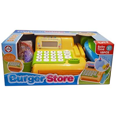 صندوق فروشگاهی اسباب بازی مدل cash register 997