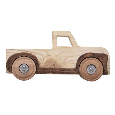 اسباب بازی چوبی مدل ماشین کد 04