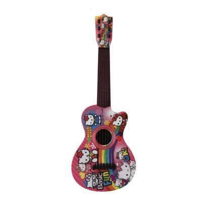 گیتار اسباب بازی مدل s63 طرح hello kitty
