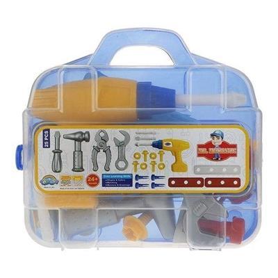 ست اسباب بازی ابزار مکانیکی مدل mr 101 مجموعه 25 عددی
