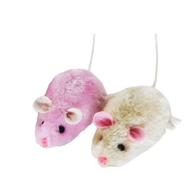 اسباب بازی گربه طرح موش بسته 2 عددی
