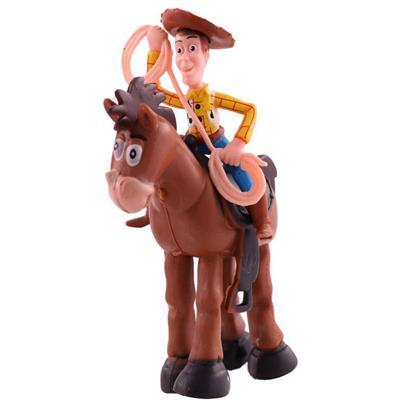 اکشن فیگور طرح داستان اسباب بازی مدل woody and bullseye بسته 2 عددی