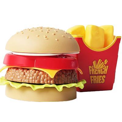 اسباب بازی مدل همبرگر سیب زمینی سازی