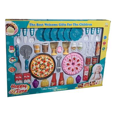 اسباب بازی ست پیتزا خوری و کیک خوری مدل 241c