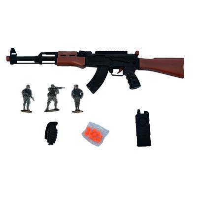 ست اسباب بازی تفنگ مدل کلاشینکف پلیس