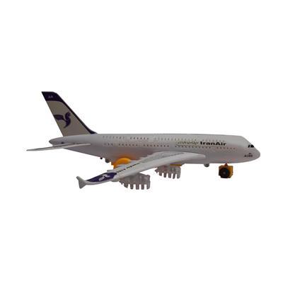 هواپیما اسباب بازی مدل ایران ایر کد a380
