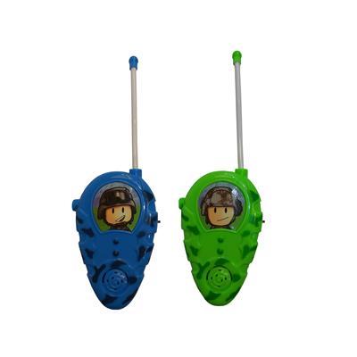 بی سیم اسباب بازی مدل walkie talkie مجموعه 2 عددی