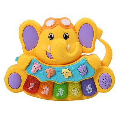 اسباب بازی آموزشی پیانو طرح فیل مدل 001