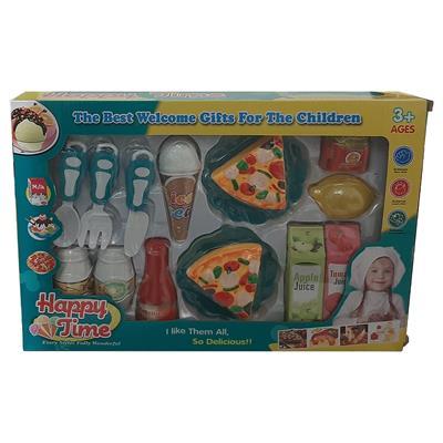 اسباب بازی ست پیتزا خوری مدل 211a