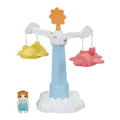 اسباب بازی چرخ و فلک هواپیمایی کودک سیلوانیان فامیلیز کد 5334