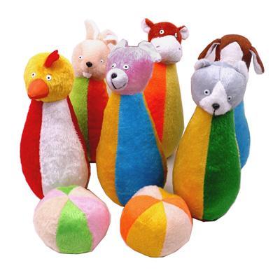 اسباب بازی بولینگ طرح حیوانات کد 7348