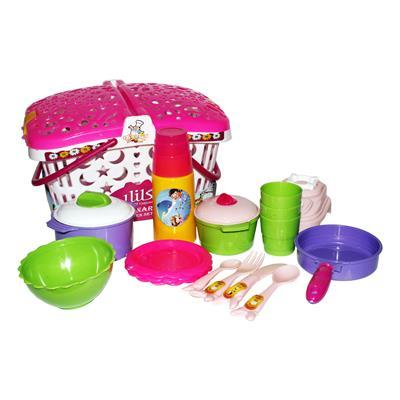 ست آشپزخانه اسباب بازی مدل basket