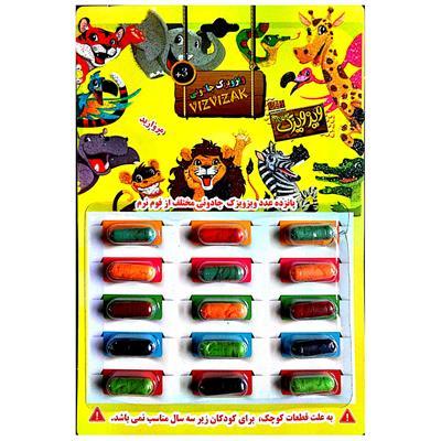 اسباب بازی شانسی ویزویزک جادوئی مدل m15 کد 150101 بسته 15 عددی