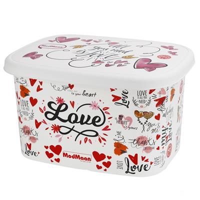 جعبه اسباب بازی کودک مدمان طرح قلب کد3