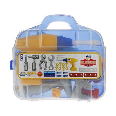ست اسباب بازی ابزار مکانیکی کودک مدل mrmechanic