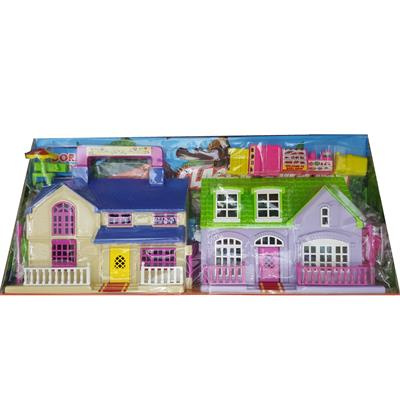 ست اسباب بازی خانه ویلایی عروسک مدل 870