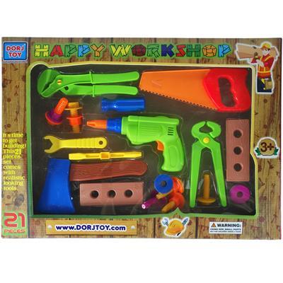 ست ابزار نجاری اسباب بازی مدل ak043