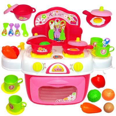 اسباب بازی ست آشپزخانه ژیونگ چنگ مدل kids kitchen 008 87a