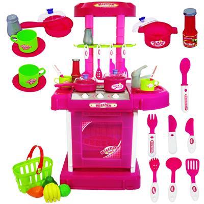 اسباب بازی ست آشپزخانه ژیونگ چنگ مدل 56 008 kitchen set