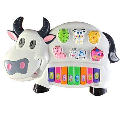 اسباب بازی آموزشی موزیکال مدل گاو