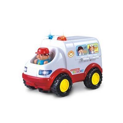اسباب بازی ماشین آمبولانس هیلی 838