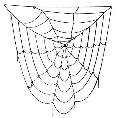 شبکه تار عنکبوت اسباب بازی مدل black window giant spider web 5 feet