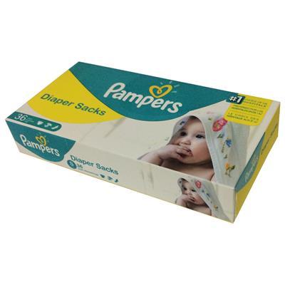 کیسه زباله پوشک نوزاد پریما بسته 36 عددی