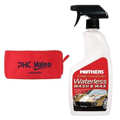 اسپری تمیز کننده و واکس بدنه خودرو مادرز مدل 5644 حجم 710 میلی لیتر به همراه دستمال نظافت خودرو
