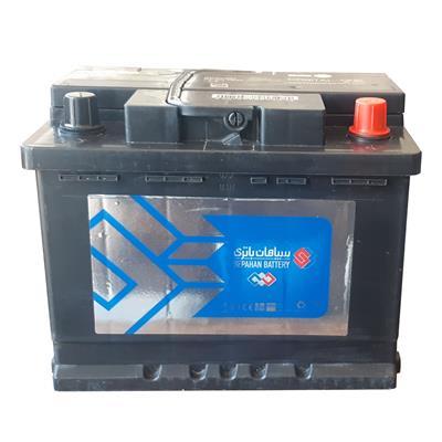 باتری اتمی خودرو سپاهان باطری مدل 55501