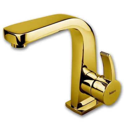 شیر روشویی کسری مدل فیروزه طلایی