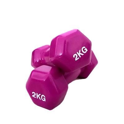 دمبل مدل اس پی وزن 2 کیلوگرم بسته 2 عددی