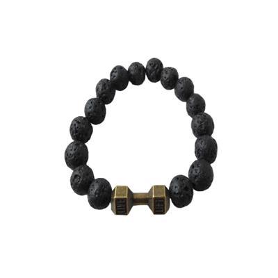 دستبند مردانه طرح دمبل کد 90