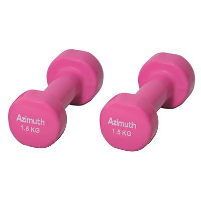 دمبل آذیموس مدل az091 وزن 15 کیلوگرم بسته 2 عددی