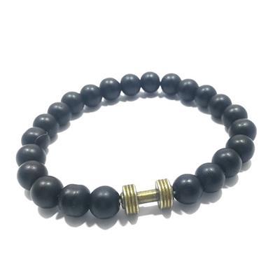 دستبند طرح دمبل کد d08