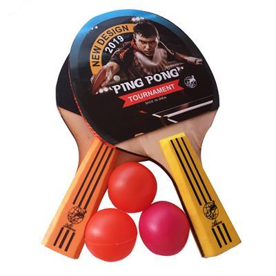 راکت پینگ پنگ مدل tournament بسته 2 عددی به همراه توپ