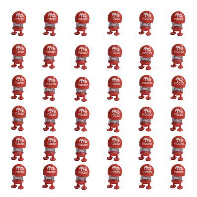 عروسک فنری طرح ایموجی تراکتور کد 411 بسته 36 عددی