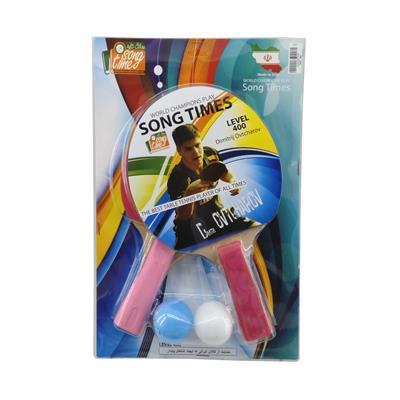 راکت پینگ پنگ سانگ تایمز کد 22 بسته 2 عددی به همراه توپ