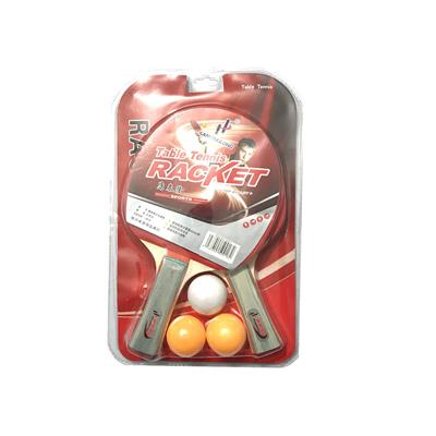 راکت پینگ پنگ kangtailong مدل top quality بسته 2 عددی