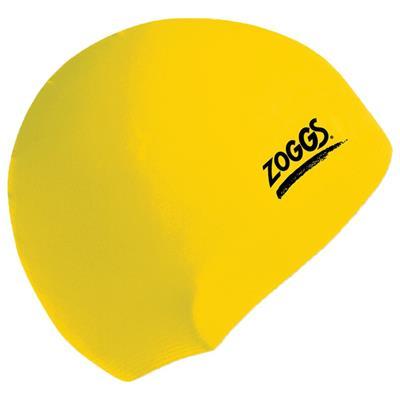 کلاه شنای زاگز مدل silicone swim cap