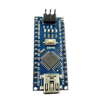 برد آردوینو نانو با پردازنده مرکزی atmega328 و تراشه ch340 مدل مهندسیکا ad003 0