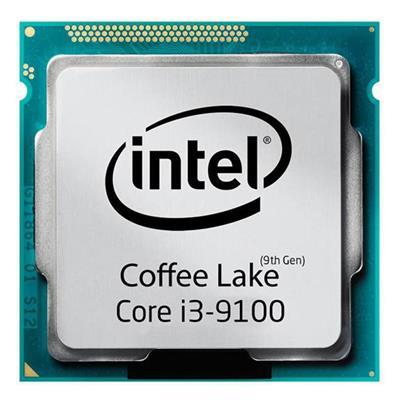 پردازنده مرکزی اینتل سری Coffee Lake مدل Core i3-9100