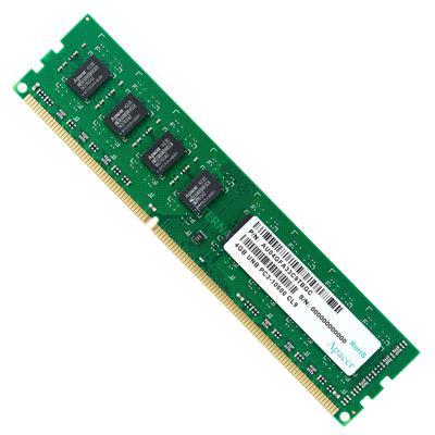 رم کامپیوتر اپیسر مدل unb pc3 10600 cl9 ddr3 1333mhz ظرفیت 4 گیگابایت