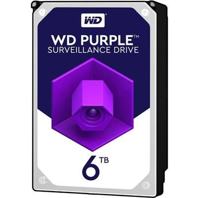 هارددیسک اینترنال وسترن دیجیتال مدل Purple WD62PURZ ظرفیت 6 ترابایت