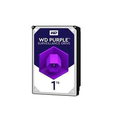 هارد دیسک اینترنال وسترن دیجیتال مدل Purple WD1VUOZ ظرفیت 1 ترابایت