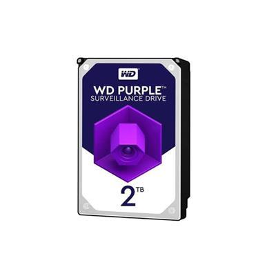 هارددیسک اینترنال وسترن  مدل Purple WD2BGA ظرفیت 2 ترابایت