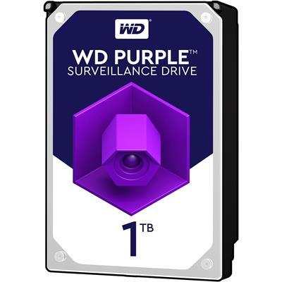 هارددیسک اینترنال وسترن دیجیتال مدل Purple WD10PURZ ظرفیت 1 ترابایت