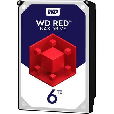 هارددیسک اینترنال وسترن دیجیتال مدل Red Pro WD60EFAX ظرفیت 6 ترابایت