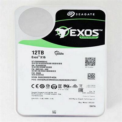 هارد دیسک اینترنال سیگیت مدل Exos X16 ST12000NM001G ظرفیت 12 ترابایت